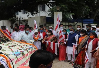 Jharkhand: RJD-Congress attacks Babulal Marandi over transfer-posting