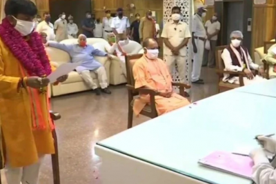 UP: These BJP candidates filed nomination for Rajya Sabha by-election