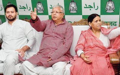 Lalu's RJD on the verge of disintegration, big responsibility on Rabri Devi's shoulders