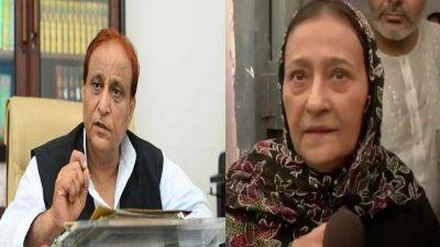 His wife, Tajin Fatima, who came to Azam Khan's rescue, said,