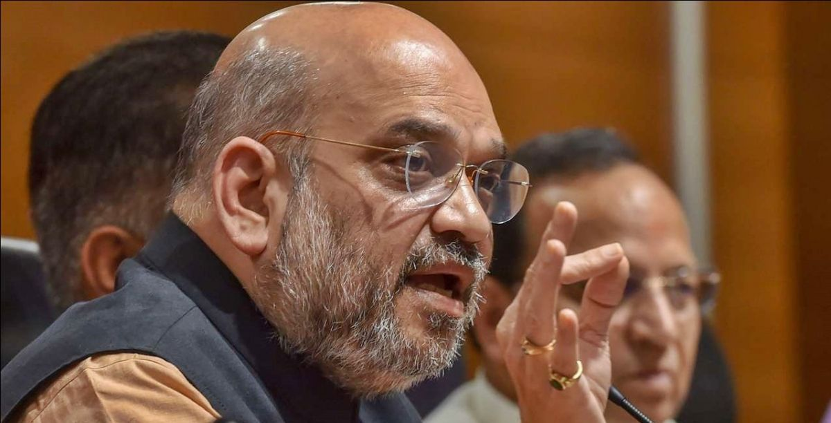 Home Minister Amit Shah attends high-level meeting on J&K