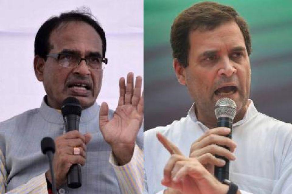 शिवराज ने राहुल गाँधी को बताया 'रणछोड़दास', कहा- वे अब जम्मू कश्मीर पर कुछ नहीं बोलेंगे