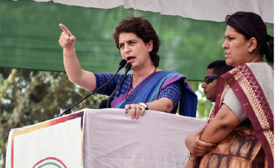 Priyanka Vadra hits out at Modi government, says silence on country's economic recession