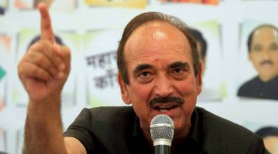 Ghulam Nabi Azad not found entry in Valley, Returned from Jammu airport to Delhi