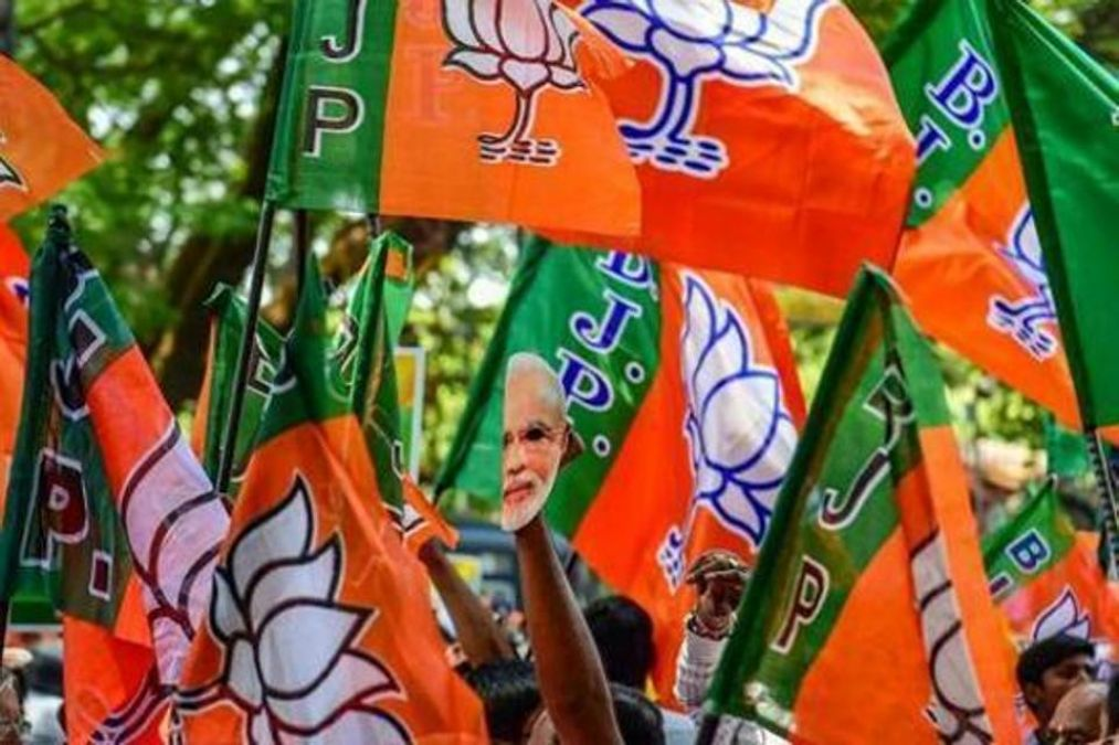 Permission to bring congratulatory motion on Section 370, BJP protests in Delhi