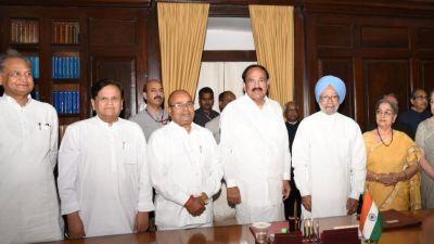 Dr. Manmohan Singh sworn in as Rajya Sabha MP
