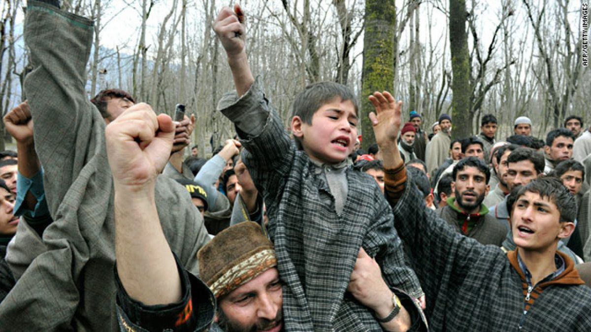 Image result for A Large Number of Terrorist Infiltration in Ghulam Kashmir