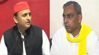 Akhilesh Yadav meets SBSP president Om Prakash Rajbhar, UP by-election may be in alliance