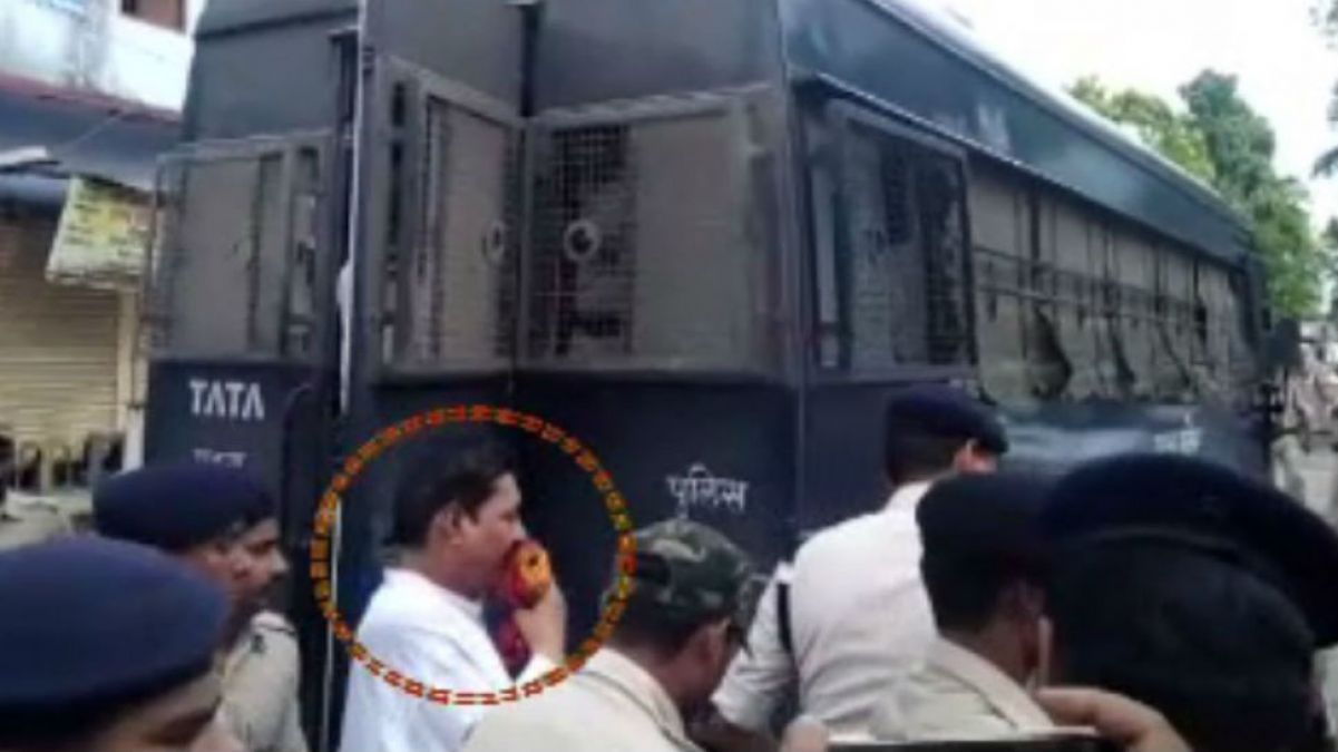 MLA Anant Singh produced before court