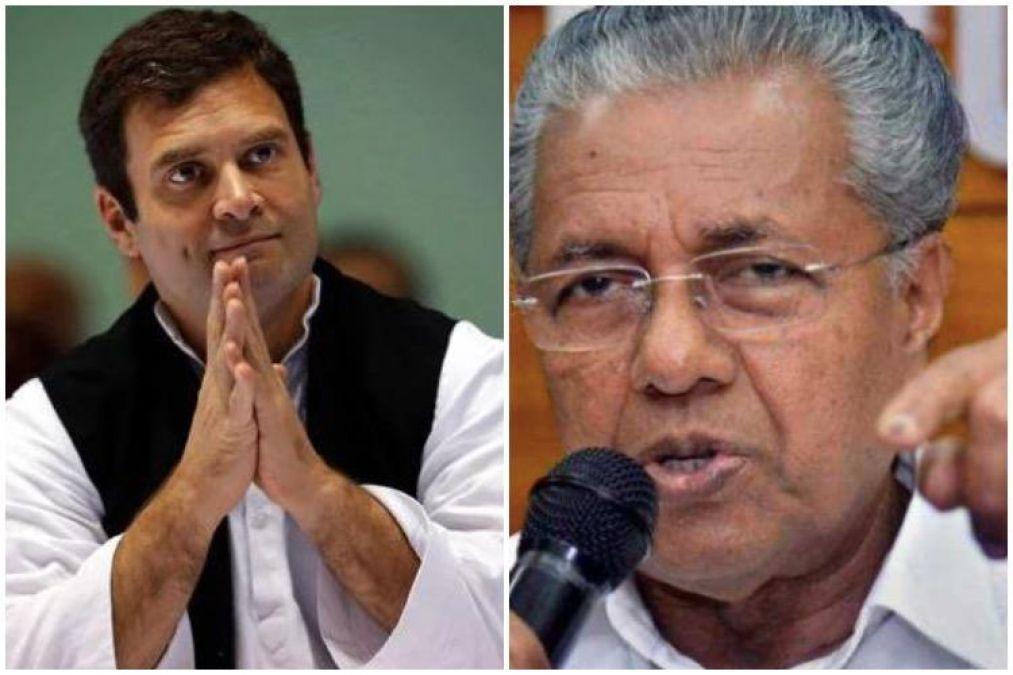 Rahul Gandhi's letter to Kerala CM seeks help for the people of Wayanad