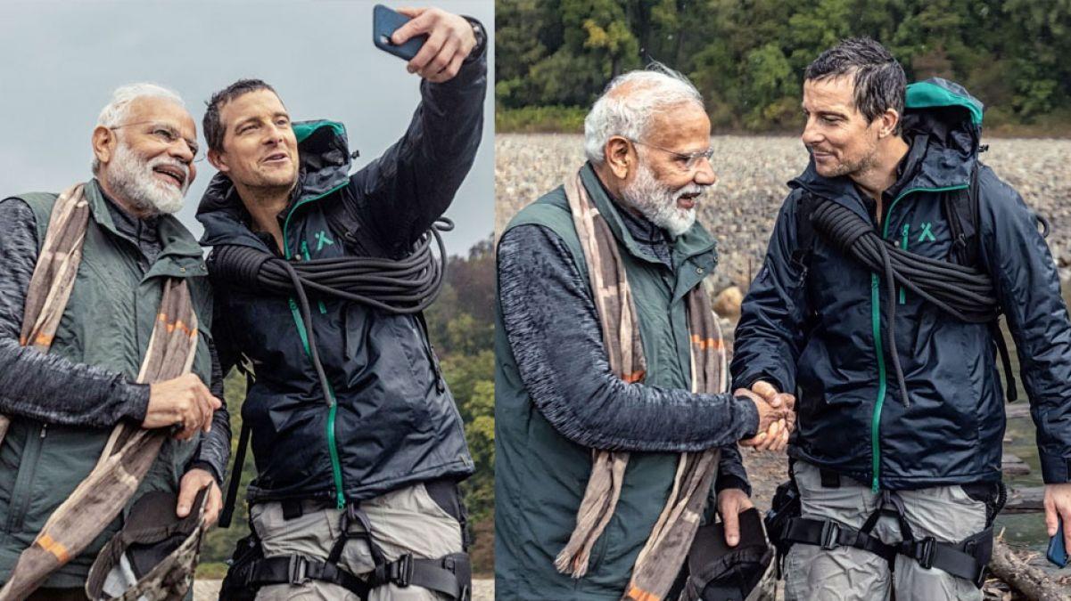 Man Vs Wild: पीएम मोदी ने खोला सीक्रेट, बताया - बेयर ग्रिल्स कैसे समझ रहे थे उनकी हिंदी