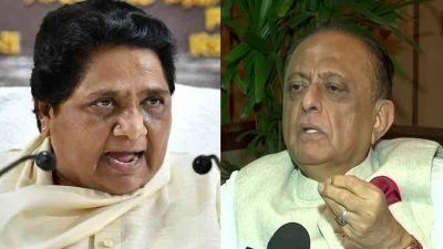 NCP leader Majid Memon's attack on Mayawati, Big statement on Ambedkar and monolithic India