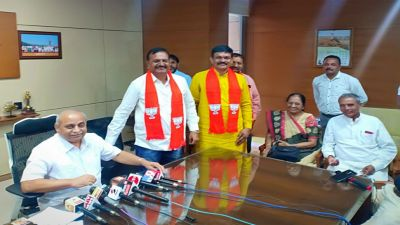 Mehsana Municipality: Major setback to Congress, all the leaders join BJP