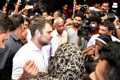 Rahul Gandhi arrives in Wayanad to look after flood victims, will also visit relief camps