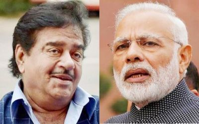 Shatrughan's tone for PM Modi changes yet again!