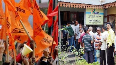 Politics on Assam NRC, Shiv Sena wants NRC to be implemented in Mumbai
