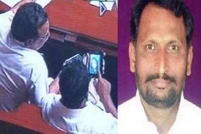 कर्नाटकः पोर्नगेट में फंसे उपमुख्यमंत्री को लेकर विवाद गहराया
