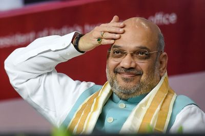 Home Minister Amit Shah says,