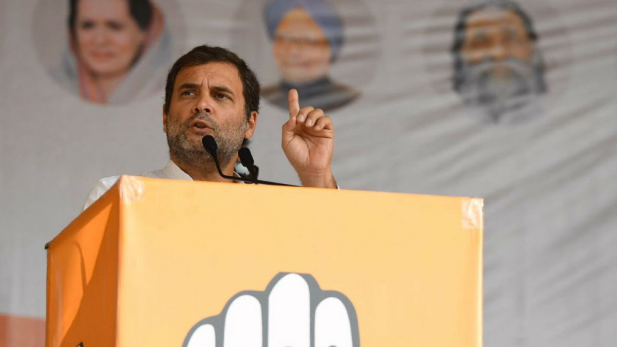 Rahul Gandhi's election campaign in Jharkhand;