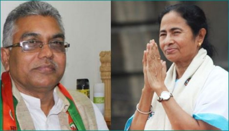 BJP के प्रमुख दिलीप घोष ने किया ममता बनर्जी के लिए आपत्तिजनक शब्द का इस्तेमाल