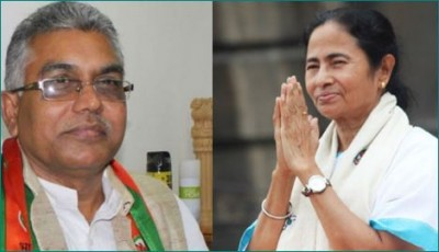 BJP chief Dilip Ghosh used offensive word for Mamata Banerjee