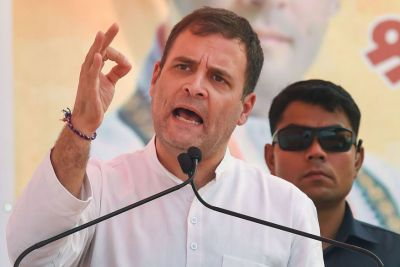 Rahul Gandhi targets Central Government, says