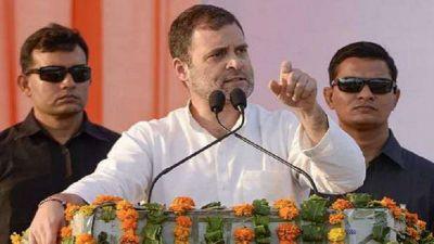Rahul Gandhi's attack on PM Modi says,