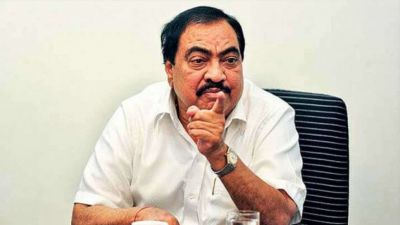 Senior BJP leader Eknath Khadse accused the party of disrespect him
