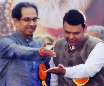 Party clarifies on former CM's statement of BJP-Shiv Sena together again