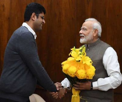 Prime Minister Modi and Deputy Chief Minister Dushyant Chautala's meeting concluded