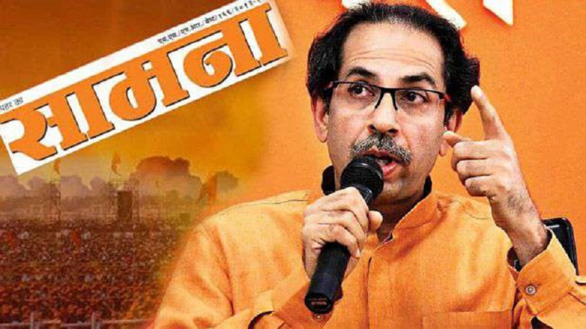 Shiv Sena again angry at central government, writes in Saamna-