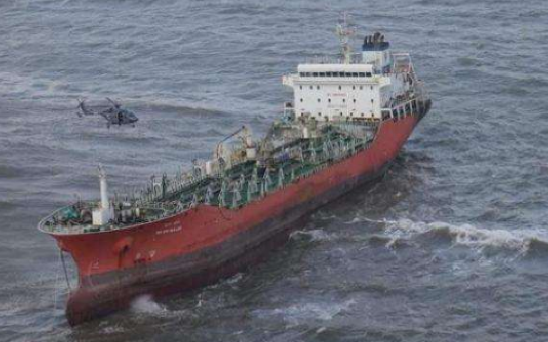 Goa: Kerosene-laden ship stuck in Goa