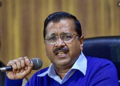 Question raised on Kejriwal's muffler, CM reacts on social media