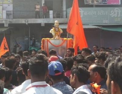 Uproar on the removal of Chhatrapati Shivaji statue, former Chief Minister Shivraj Singh will go to Sonsar