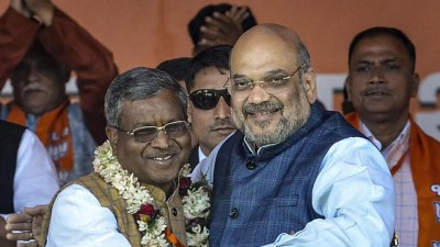 Amit Shah on Babulal Marandi's homecoming, says-