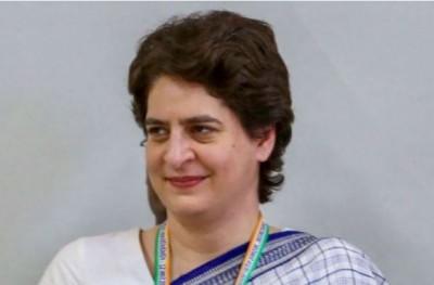 Today, Priyanka Gandhi to lead Kisan Mahasabha in Muzaffarpur