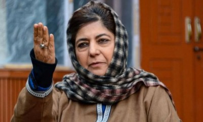 Mehbooba calls for following same pattern of farmers' agitation for Article 370
