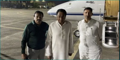 MP: Kamal Nath escape as lift falls suddenly, CM Shivraj issues inquiry notice