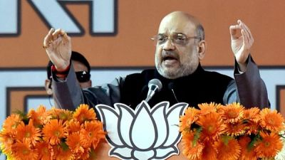 'Kejriwal ji where are your 1.5 lakh CCTV cameras? Public is searching ': Amit Shah