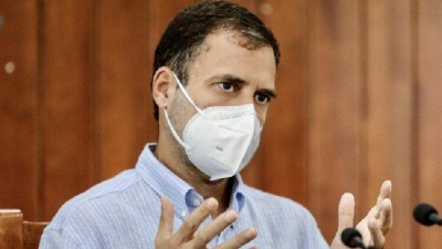 Rahul Gandhi launches campaign for farmers against Modi government