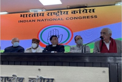 Congress demands investigation of Arnab WhatsApp chat