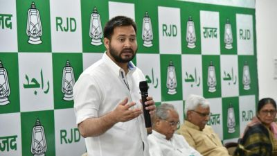 After a long time, Tejaswi broke the silence, aiming at the BJP and Nitish Kumar