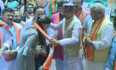 आखिरकार भाजपा की हुई सपना चौधरी, दिग्गज नेताओं की मौजूदगी में ली सदस्यता