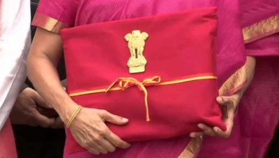 After all, the Finance Minister opened up the secret, explains why she brought the budget in a red bag
