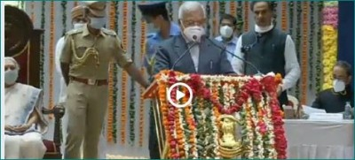 New MP Governor Mangubhai Patel sworn in as office and secrecy
