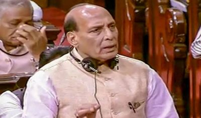 'Entire case begins from Rahul Gandhi', Rajnath on the ongoing political crises in Karnataka