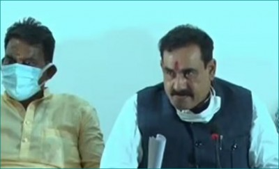 Narottam Mishra lashes out at Kamal Nath, says he should 'take care of his health'