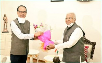 CM Shivraj Singh Chouhan meets Governor