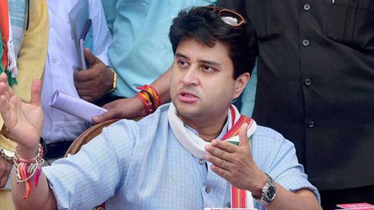 Karnataka's: Jyotiraditya Scindia breaks silence, levelled serious allegations against BJP