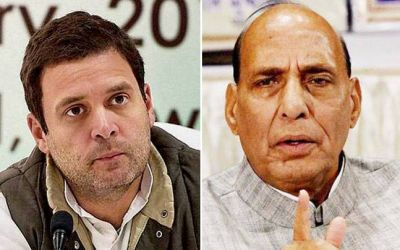 'Rajnath Singh' blames Rahul Gandhi for the plight of farmers